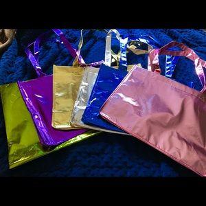 Handbags - Metallic tote bags